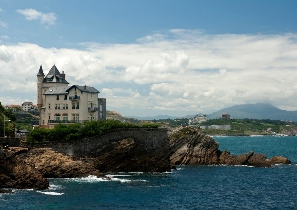 biarritz résidence luxe vue sur mer