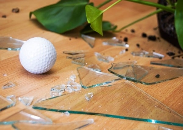 inconvenient vivre dans maison sur un golf
