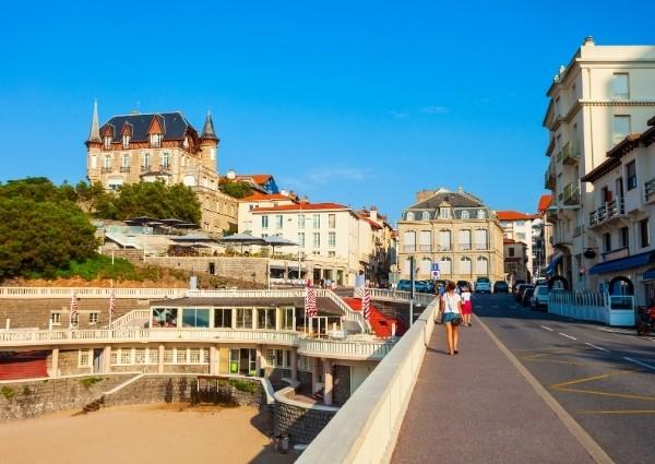 biarritz la plage en ville