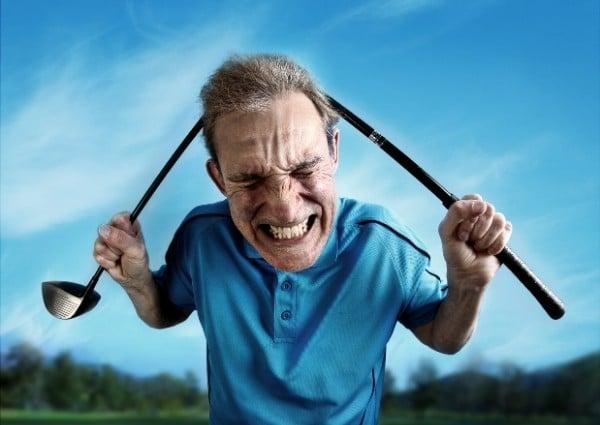 inconvenient acheter maison sur golf - les golfeurs enerves