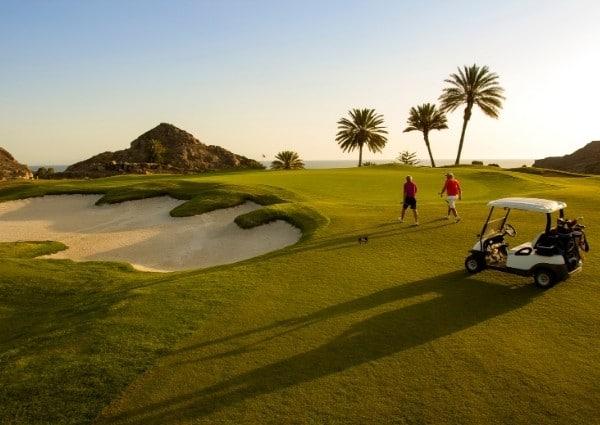 magnifique golf entretenue au pays basque